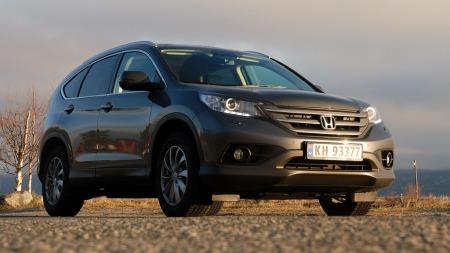 Honda-CR-V-forfra-lav (Foto: Benny Christensen)