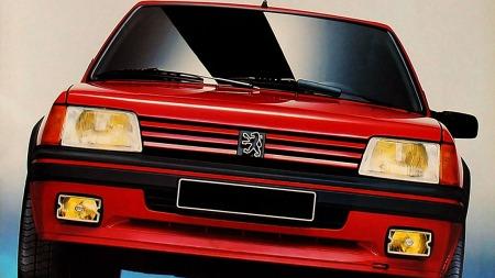 Liten, lett og leken. Peugeot 205 GTI.