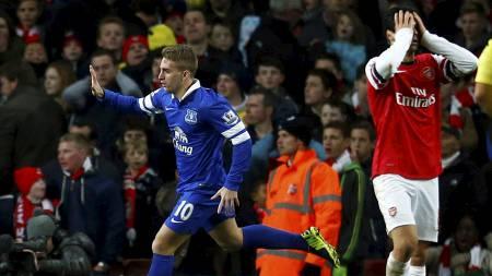 ØDELA: Gerard Deulofeu ødela for Arsenal da han utlignet. (Foto: ANDREW WINNING/Reuters)