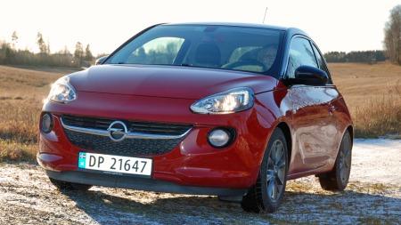 Adam er Opels minste modell - og en bil du kan skreddersy i stor grad etter egne ønsker. Også oppe i taket!