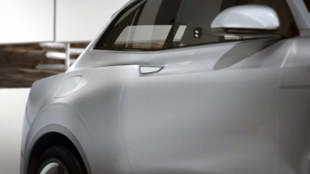 Volvo XC90 konsept detalj