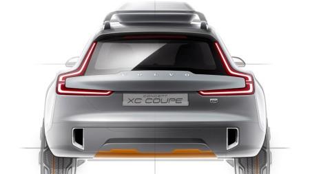 Volvo XC90 konsept bakfra