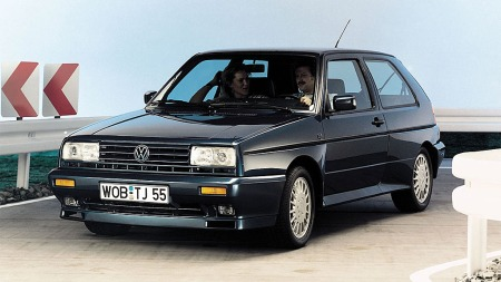 VW Golf Rallye - en skikkelig tøffing...