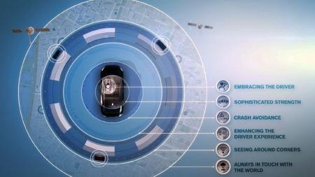 Etter 2020 er målet at ingen skal omkomme i en ny Volvo. Da må de ta i bruk avanserte systemer (Foto: Volvo )