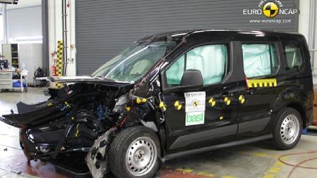 Ford Tourneo Connect. (Foto: Euro NCAP)