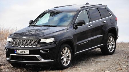 Jeep Grand Cherokee hovedbilde alt 1