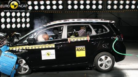 Kia Carens. (Foto: Euro NCAP)