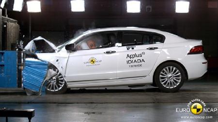 Qoros 3 sedan. (Foto: Euro NCAP)
