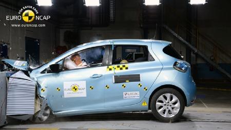 Renault Zoe. (Foto: Euro NCAP)