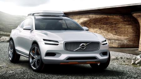 Denne konseptbilen er ment som en forsmak på nye XC90 - selv om det naturligvis kommer til å bli betydelige endringer til produksjonsklar bil.