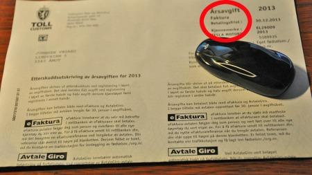 Det var slett ikke så deprimerende å få regningen for årsavgiften heller ...