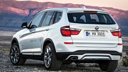 BMW X3 bakfra