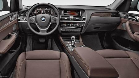 BMW X3 interiør