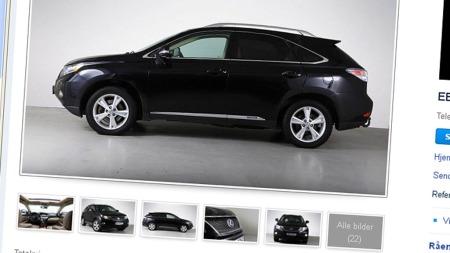Lexus SUV annonsen