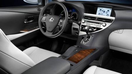 Lexus SUV interiør