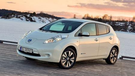 Nissan Leaf er en stor suksess på det norske markedet. Så langt i år er dette Norges tredje mest solgte personbil.