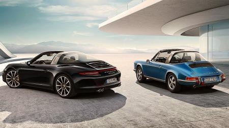 Porsche 911 gjør nå et skikkelig comeback med den klassiske targa-modellen i helt ny og moderne utgave