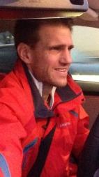 Selfie må til - og optimismen er stor etter at Morten forteller at toget er forsinket ...