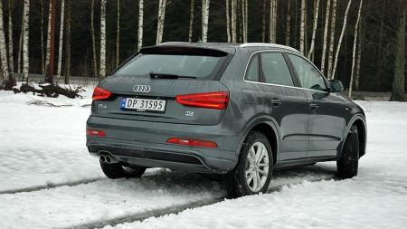 Konkurransen i denne klassen er knallhard, men Audi Q3 har mange fortrinn som gjør at den skiller seg ut fra mengden.