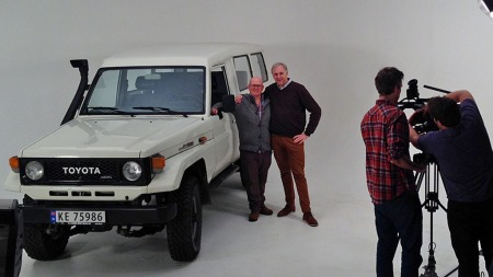 En ekte offroad-legende er blant de utvalgte bruktbilene i vårsesongen   på Broom TV. Benny har valgt den ut - på TV skal du få se og høre hva   Jan Erik mener om det.