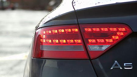 Audi-A5-baklykt (Foto: Sigmund Bade)
