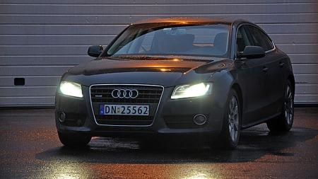 Audi-A5-front-mørk (Foto: Sigmund Bade)