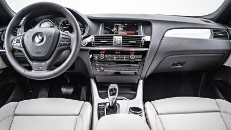 BMW-X4-interiør
