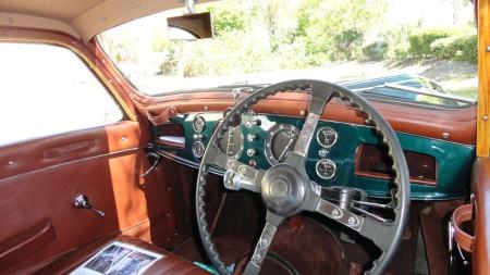 Delage produserte luksusbiler, og da denne ble bygget hadde de vanskelige tidene i realiteten allerede innhentet produsenten. De fusjonerte med Delahaye, som i sin tur gikk over ende like inn på 1950-tallet. (Foto: Vintage Motors of Sarasota)