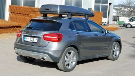 Mercedes GLA går rett inn i klassen for kompakte SUV-er - for øvrig en av bilklassene som vokser aller mest om dagen.