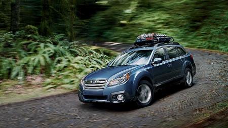 Cowboy-bil. Outback er den mest populære Subaru-modellen i USA