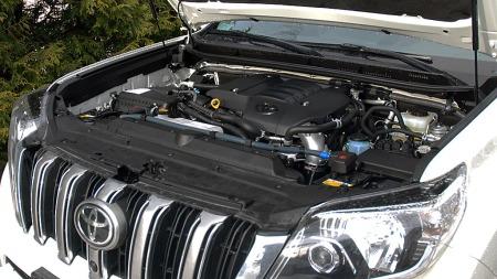3-liter dieselmotor på 190 hk. sørger for krefter nok.  (Foto: Benny Christensen)