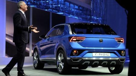 VW viser et helt nytt bilkonsept i Geneve akkurat nå. Det handler om kompakt SUV og navnet er (i alle fall foreløpig) T-Roc.