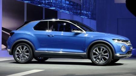 T-Roc er basert på samme plattform som nye Golf, VW-konsernets svært fleksible MQB-plattform.