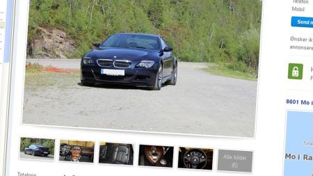 BMW-M6-annonsen