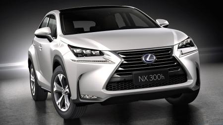 En skarp og sporty front kjennetegner nye Lexus NX.