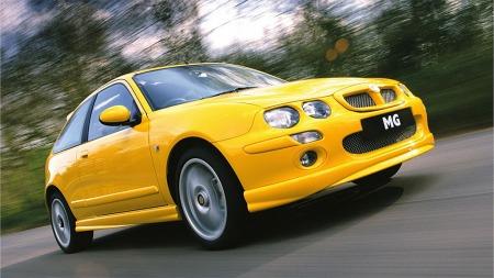 MG Rover endte på Jumboplass med alvorlig motorfeil på 1 av 19 biler. Illustrasjonsbilde.
