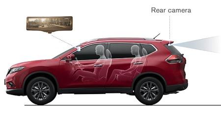 Det er  Nissan Rouge som kommer først med den nye teknologien (Foto: Nissan)