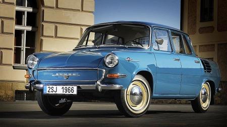 Skoda 1000 MB ble ansett for å være elegant på 60-tallet.