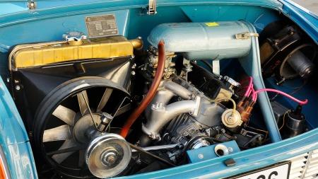 Radiator med raus vifte til tross - her kunne det bli varmt.