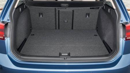Her er det store trumfkortet til Golf stasjonsvogn: Et bagasjerom på hele 605 liter!