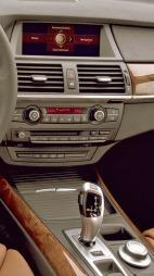 Første generasjon iDrive - uten knapper rundt menyhjulet.