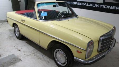 En slik Mercedes har du ganske sikkert aldri sett før. Dersom   det har vært et savn, kan du rette opp i det på auksjonen i Randers førstkommende   søndag. (Foto: Campen Auktioner)