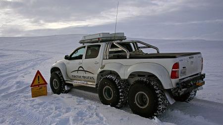 Dette er bilen for deg som har behov for å komme fram der det ikke er veier.  (Foto: Arctic Trucks )