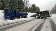 Kaos og livsfarlige veier på Lillehammer