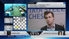 Carlsen etter ny remis: – Jeg prøvde å sette ham under press