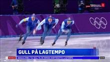 Sportsnyhetene: Norsk gull på lagtempo