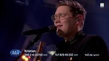 Her synger Kristian Idol-låten for første gang: – Du eier scenen!