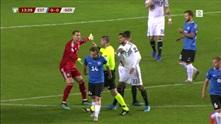 Emre Can så rødt da Tyskland vant mot Estland