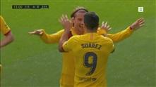 Griezmann gir Barcelona ledelsen mot Eibar