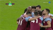 Ogbonna sender West Ham i føringen med skulderen